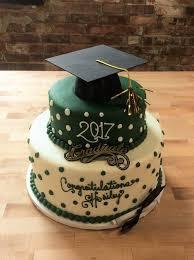 party cake graduation party cake with polka dots trefzger s bakery