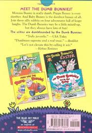 the dumb bunnies easter dumb bunnies collection dav pilkey 9780439756662 books