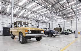 land rover jaguar jaguar land rover u0027s classic works facility