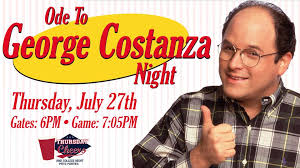 George Costanza Under Desk P Nats U0027 George Costanza Appreciation Potomac Nationals Facebook