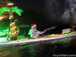 kayaking the 2014 boca raton holiday boat parade kayakfari