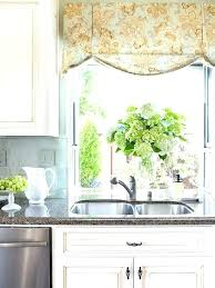 kitchen valance ideas bay window valances great kitchen ideas and with regard to valance