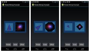 android bitmap android rotate and scale bitmap exle more is not always better