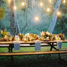 Backyard Party Lights by String Lights On Tree For Wonderful Party Idea Inspiring Outdoor