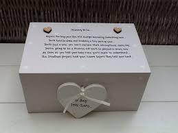 personalised keepsake box shabby personalised chic to be mummy baby keepsake large