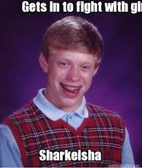Sharkeisha Meme - meme maker gets in to fight with girl sharkeisha