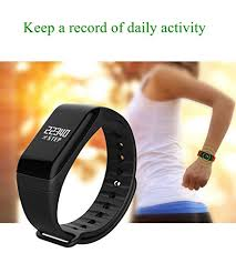 wrist bracelet monitor images Fitness tracker with replacement band bluetooth smart wristband jpg