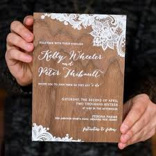 wood wedding invitations wood wedding invitation picture of printed wood wedding invitation