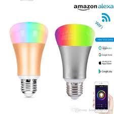 google home automation lights wifi samrt bulb 7w equivalent 60w work with echo alexa and google