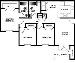 ochlockonee pointe apartments floorplan options