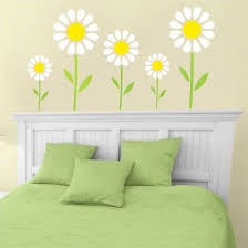 Daisy Room Decor 12 Best Floral Flower Stencil Images On Pinterest Flower