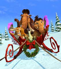 credits ice age mammoth christmas