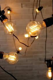 vintage light bulb strands lights bulb string led ball shape vintage indoor outdoor l