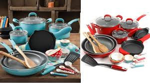cookware black friday the pioneer woman vintage speckle 24 piece cookware set only