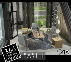 Sims 4 Furniture Sets Sims 4 366 Concept Living Part Ii New Mesh Sims 4 Designs
