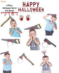 amazon com prextex 4 piece halloween horror hair bands best