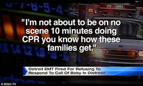Emt Memes - detroit emt ann marie thomas fired after she refused to help a