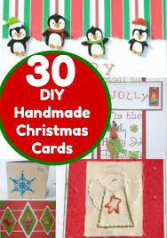 30 christmas cards you can make yourself u2013 home and garden