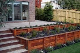 stunning garden retaining wall design how to install a timber