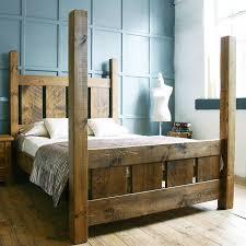 Solid Bed Frame King Bed Frame Bed Frames King Size Wooden Handmade Solid Wood Bed
