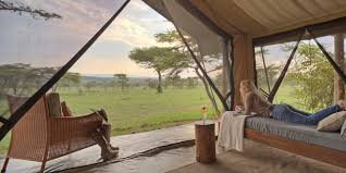 naboisho camp guest bedroom tent interior stevie mann kenya
