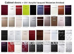 White Laminate Kitchen Cabinet Doors High Glossy Used White Laminated Kitchen Cabinet Door For Acrylic