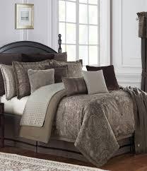 Jacquard Bed Set Waterford Glenmore Pebble Paisley Jacquard Reversible Comforter