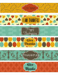 thanksgiving labels free thanksgiving party printables set 1 second chance to