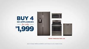 black friday appliances ge appliances black friday savings event buy 4 ge appliances for