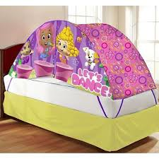 bed tent with light new bubble guppies bed tent with push light fits twin bed multi