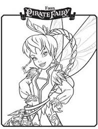 free printable tinkerbell friends coloring pages kids