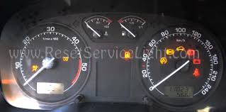 what does it mean when the airbag light comes on reset srs airbag light skoda octavia mk1 1996 2011 reset service