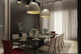harmonious dining room light equipped rectangle long dining table