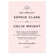 wedding invitations format exles of wedding invitations reduxsquad