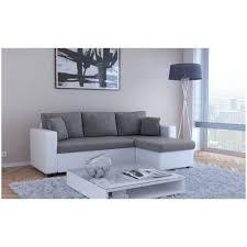 canap blanc gris canape blanc gris canapa sofa divan canapac d angle convertible