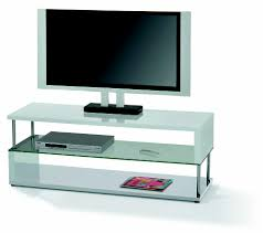 Picture Of Tv White Gloss Tv Stand Cannes Wide Lcd Tv Stand In White Gloss With