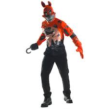 five nights at freddy s halloween costume party city five nights at freddy u0027s nightmare foxy costume