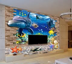 fashion decor home decoration for bedroom seaside world dolphin