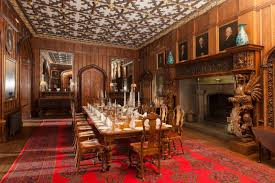 Dining Room Duns Castle - Castle dining room