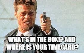Whats In The Box Meme - whats in the box meme generator imgflip