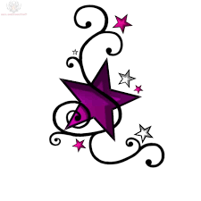 music notes with stars tattoo designs tribal music notes and