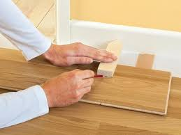 Door Strips For Laminate Flooring How To Install Click Lock Laminate Flooring How Tos Diy