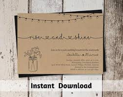 morning after wedding brunch invitations post wedding brunch etsy