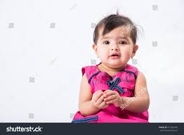 portrait cute indian baby asian stock photo 411825445