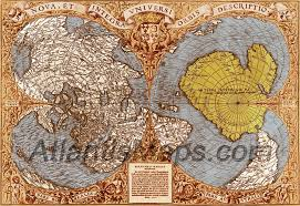 Antarctica World Map by The Antarctica Maps