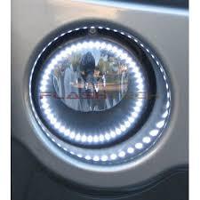 led lights for 2014 jeep grand jeep grand white led halo fog light kit 2005 2010