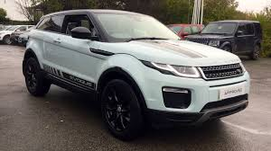 land rover range rover evoque coupe used land rover range rover evoque 2 0 td4 se tech 3dr auto diesel
