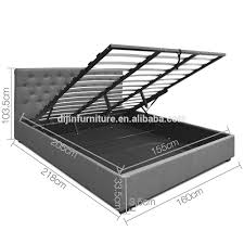 bed frame with gas lift bed frame with gas lift suppliers and