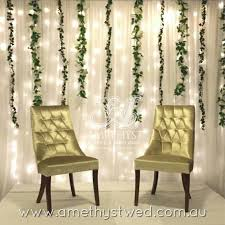 wedding backdrop fairy lights bridal stage setup fairy light wedding backdrop drapings with