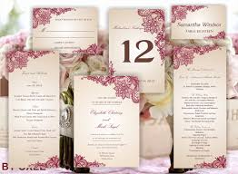 printable set of wedding templates invitation rsvp card program